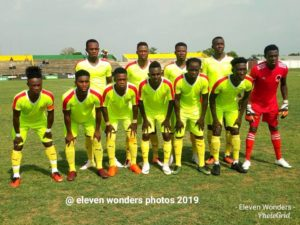 2019/20 Ghana Premier League match report : Eleven Wonders record 2-0 victory over Karela United