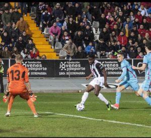 VIDEO: Watch Kingsley Fobi's goal for Badajoz against Eibar in the Copa del Rey
