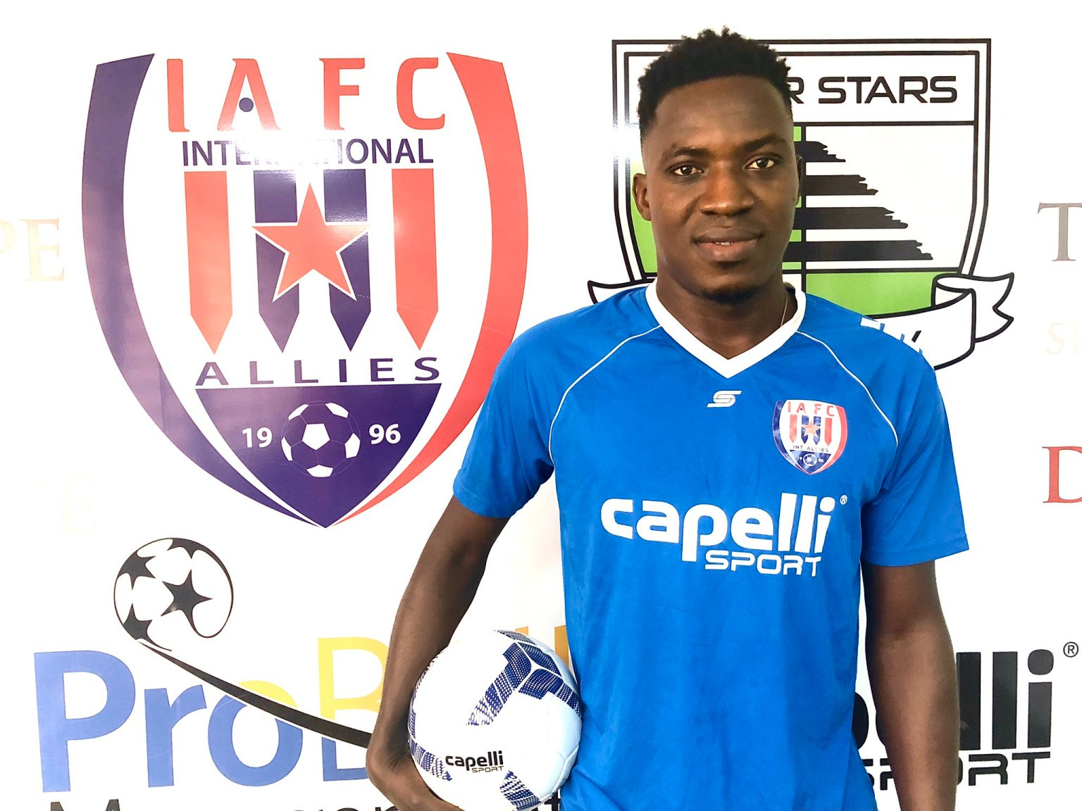 Inter Allies re-sign top midfielder Gockel Ahortor