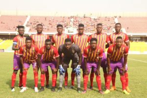 Hearts of Oak manager Nii Odoom names starting eleven for WAFA match; Emmanuel Nettey handed debut