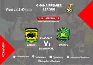 Ghana Premier League matchday 5 Preview: Kotoko vs Ebusua Dwarfs