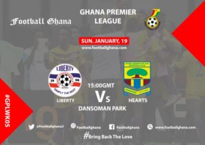 Ghana Premier League matchday 5 preview: Liberty vs Hearts