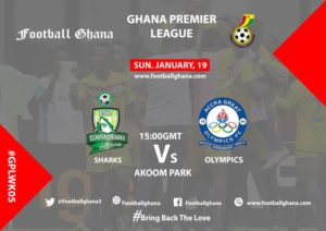 Ghana Premier League matchday 5 Preview: Elmina Sharks v Great Olympics