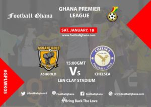 Ghana Premier League Matchday 5 Preview: AshantiGold vs Berekum Chelsea