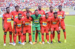 Confirmed Kotoko starting eleven to face Hearts: Maxwell Konadu picks Baah ahead of Annan