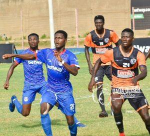 Liberty Professionals midfielder Mubarak Alhassan happy to net debut goal in win over Ebusua Dwarfs