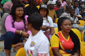 PHOTOS: Fans at the stadium for the Super Clash