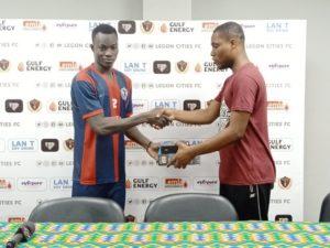 Abdul Karim adjudged Nasco MoTM in Legon Cities FC's win against Bechem United