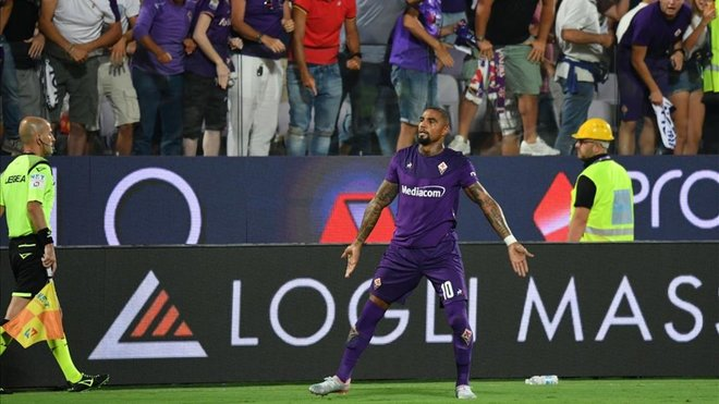 Fiorentina coach Lachini confirms injured KP Boateng will spend time on the sidelines