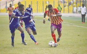 Kojo Obeng Jnr: Hearts of Oak forward remains a doubt for Kotoko clash