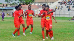 Club friendly: Kotoko demolish Tamale City 6-0 as Richard Arthur nets hat-trick