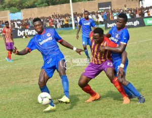 2019/20 GPL Match Week 5: Liberty 1-2 Hearts of Oak - Phobians comes from behind to bag important 3 points