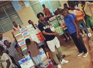 Majeed Ashimeru donates to Madina Orphanage