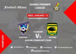 LIVE UPDATES: Medeama SC 1-0 Kotoko - Ghana Premier League Match Week 4