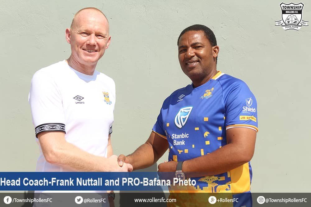 Ex-Hearts of Oak boss Frank Nuttal given Township Rollers coaching job