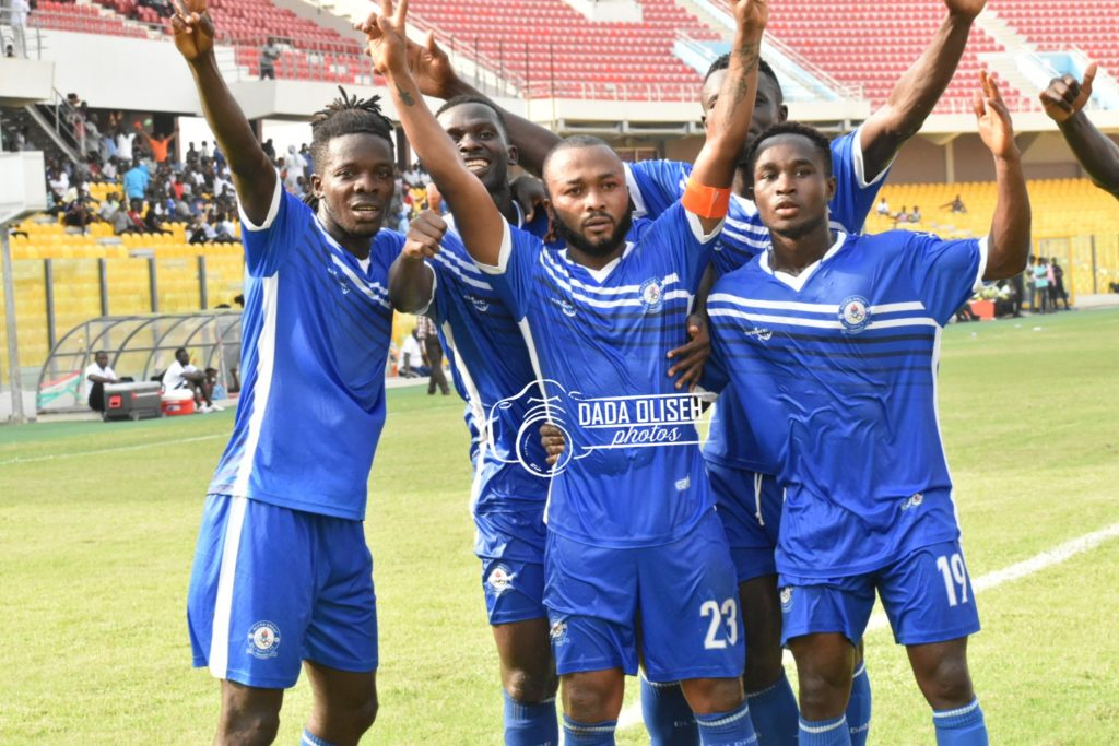 2019/2020 Ghana Premier League: Gladson Awako on target as Great Olympics beat Karela United 2-0