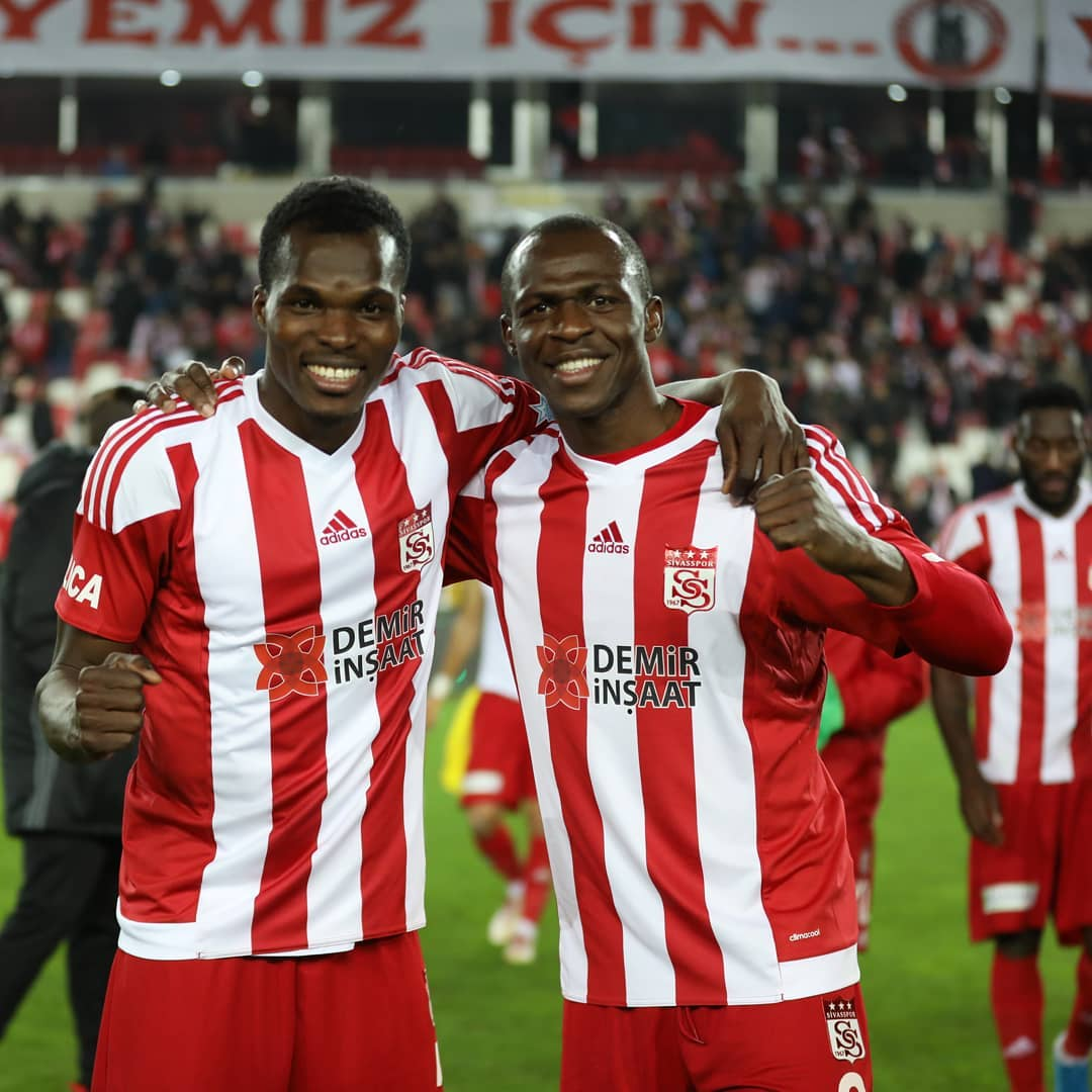 Isaac Cofie's Sivasspor trounce Yeni Malatyaspor in Turkey Cup match