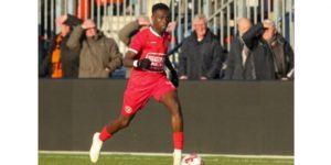 Samuel Brobbey delighted after netting a brace in Almere City's win against ONS Sneek