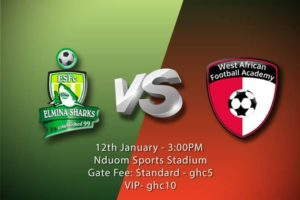 Match Preview: Elmina Sharks v WAFA – 2019/2020 Ghana Premier League