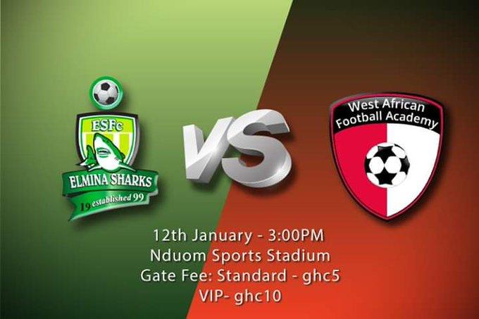 Match Preview: Elmina Sharks v WAFA – 2019/2020 Ghana Premier League