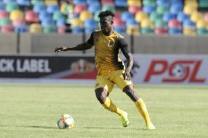Ghanaian defender Gyimah determine to play through pain barrier to help Black Leopards escape relegation