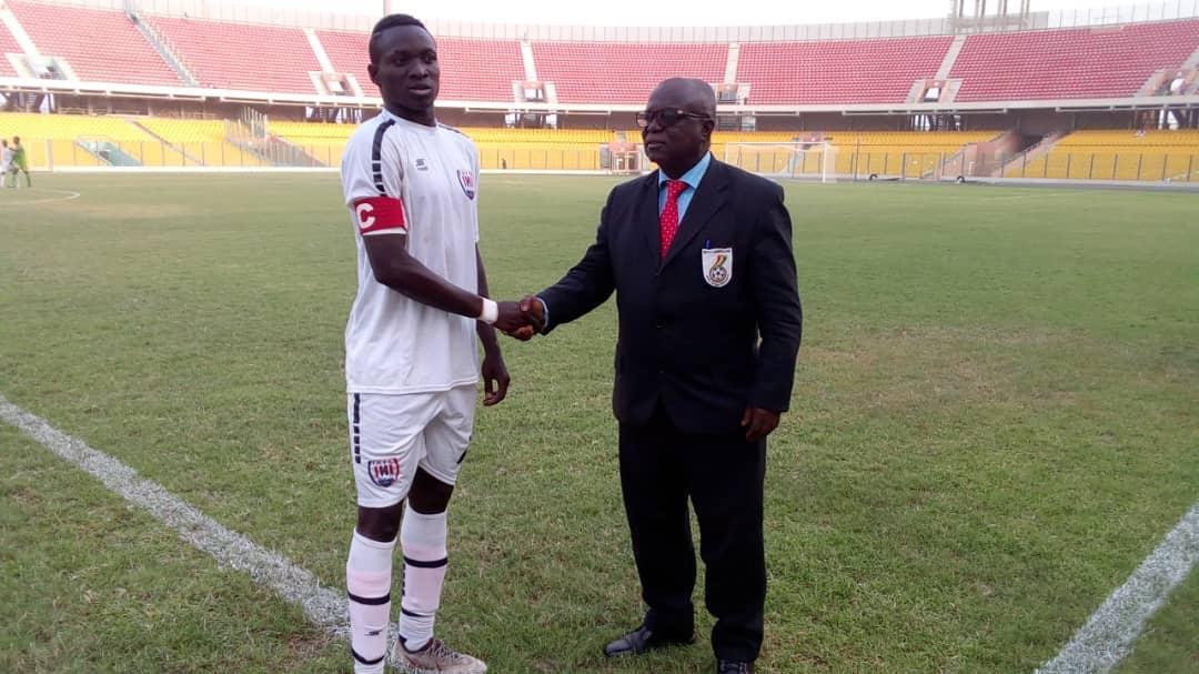 Victorien Adje Adebayor named MoTM in Inter Allies' 2-1 win against Bechem United