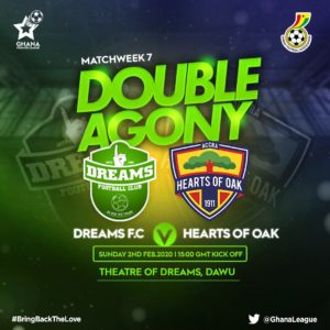Dreams FC announce tickets prices for Hearts of Oak match