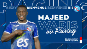 Majeed Waris hopes to help Strasbourg with his quality