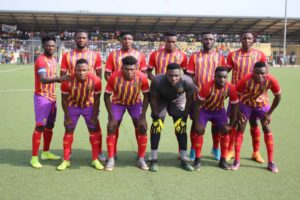 Coach Edward Nii Odoom picks strong starting eleven to face Kotoko