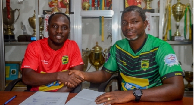 BREAKING: Kotoko sign striker William Opoku Mensah