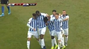 VIDEO: Watch Winful Cobbinah's goal for FK Tirana in their 5-1 win against Luftertari
