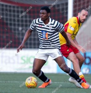 Alfredo Agyemang makes first Scottish Cup appearance