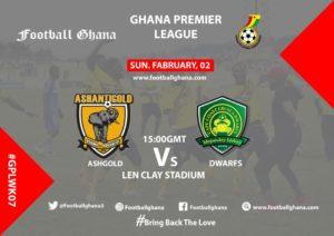Ghana Premier League Week 7 Preview: AshantiGold v Ebusua Dwarfs