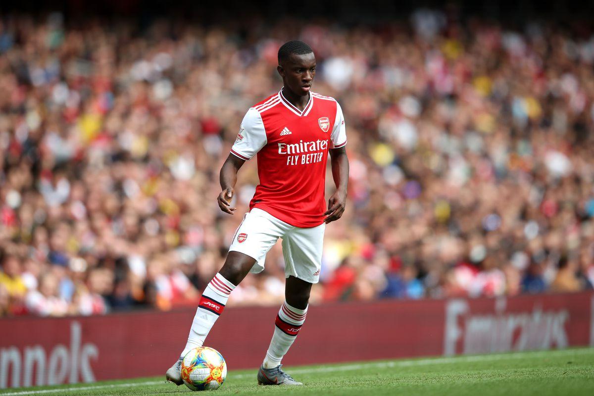 Eddie Nketiah to remain at Arsenal