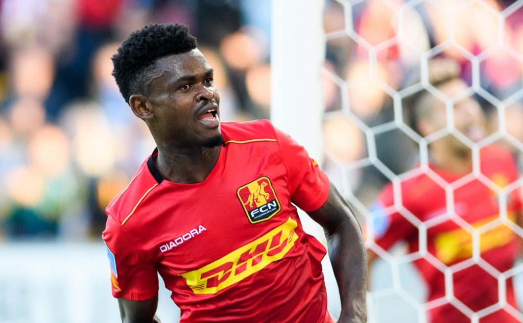 Godsway Donyoh not part of the FC Nordsjælland team in Ghana for a training tour