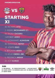 Edward Nii Odoom names unchanged lineup for Liberty clash