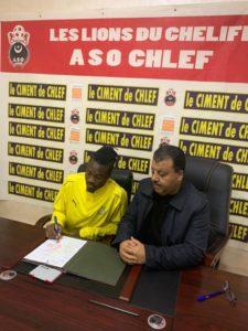 Algerian side ASO Chlef complete signing of Ghanaian forward Rahim Osumanu