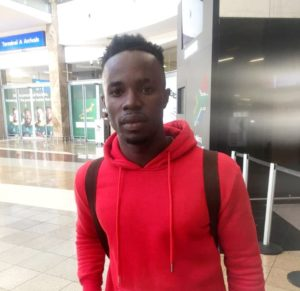 Ghana's Nicholas Gyan arrives in South Africa for Black Leopards trial