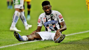 Isaac Donkor set for a lengthy spell on the sidelines after picking up ankle injury