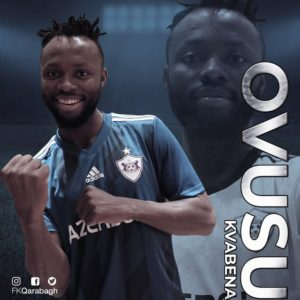 Ghanaian forward Kwabena Owusu delighted to join Qarabağ FK