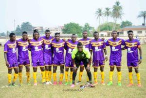 Medeama SC announce 18-man squad for Liberty Professionals clash