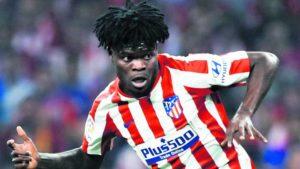 Atletico Madrid needs to 'improve as a team'- Thomas Partey
