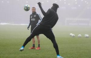 Salisu Mohammed resumes training