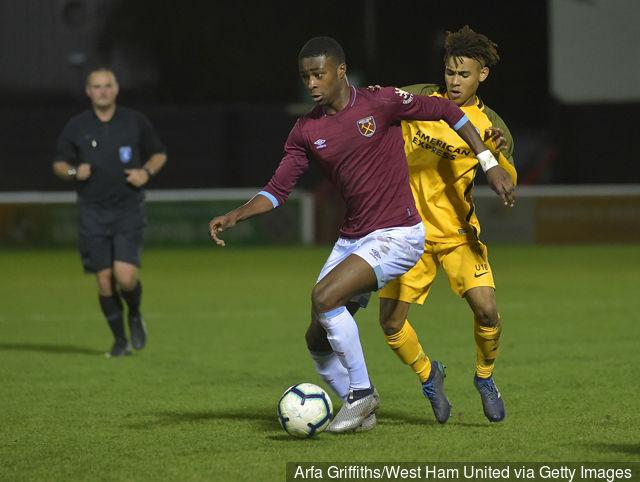 Ghanaian prodigy Sean Adarkwa scores for West Ham in Premier League 2