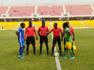 GFA releases officials for GPL match week three