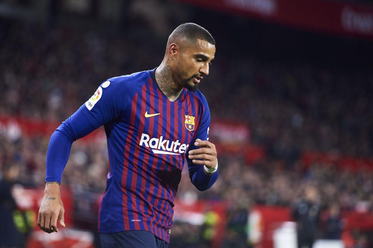 Braithwaite chooses Kevin-Prince Boateng's number in Barcelona