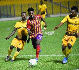 Hearts of Oak forward Daniel Afriyie unhappy with missed chances against Ashanti Gold SC in goalless draw