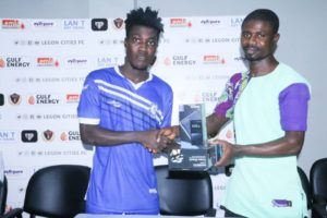 Great Olympics attacker Ibrahim Sulley named MoTM in draw with Legon Cities FC