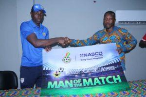 Hearts of Oak striker Kofi Kordzi named MOTM following brace against Bechem United