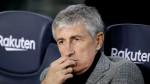 Barcelona will be successful with Setien despite crisis - president Bartomeu